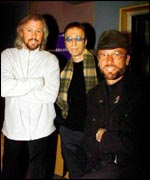 The three Bee Gees